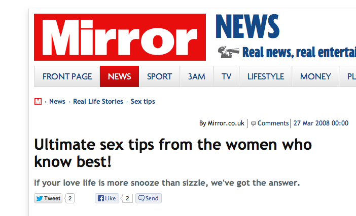Ultimate Sex Tips From The Women Who Know Best! 1