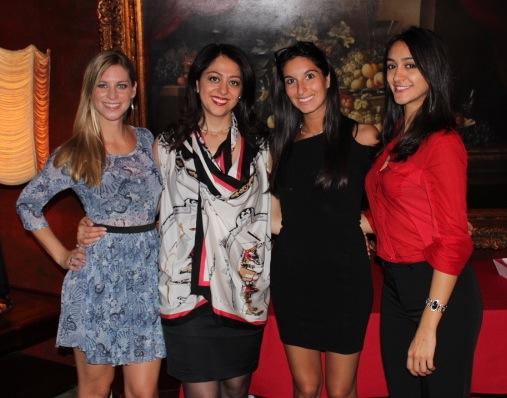 from left Christina Weber, Dr. Sara, Lauren Brenner, Saba Nasserzadeh